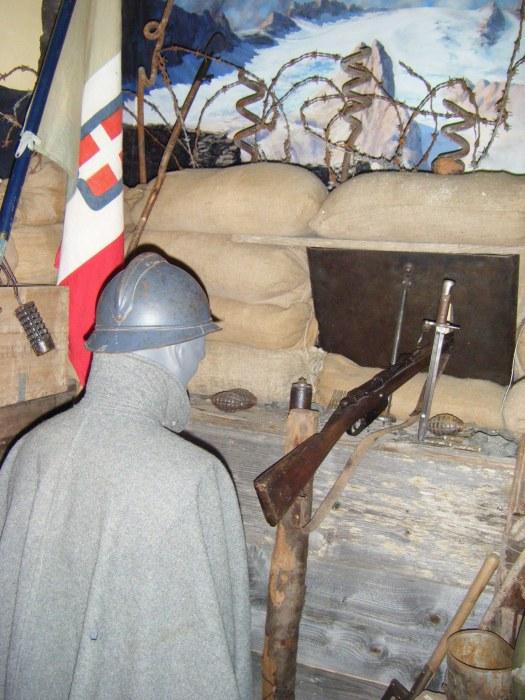 museo della grande guerra fedaia gaetano novelli