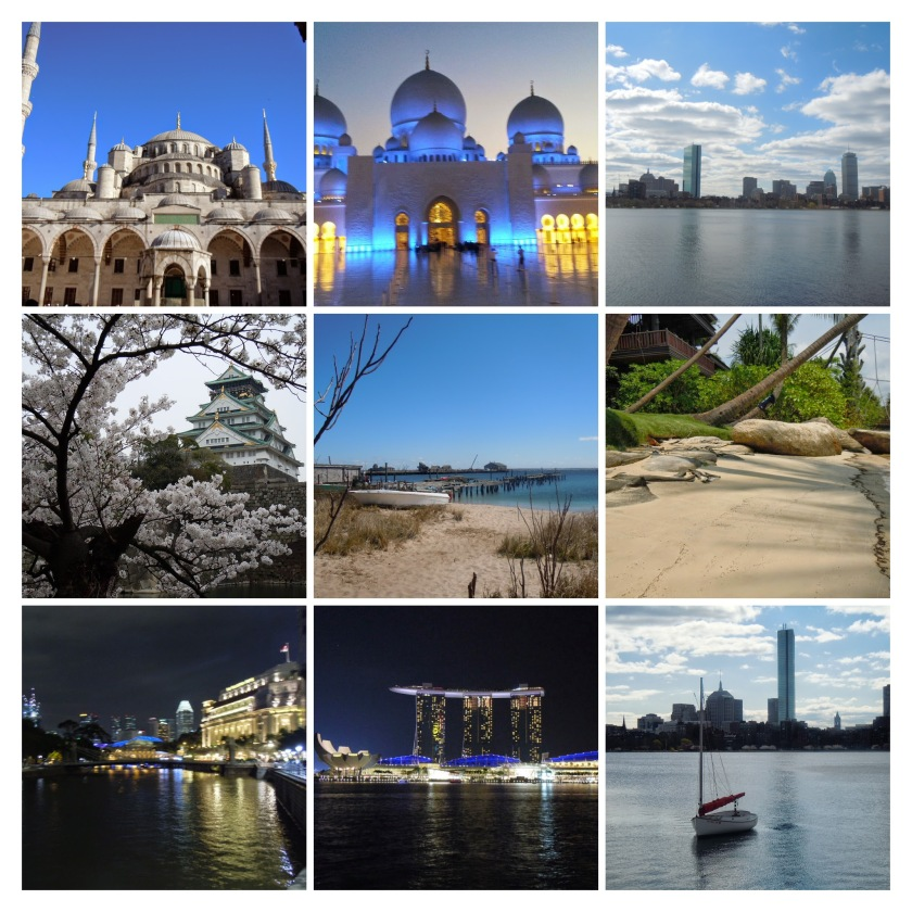 Mondo Collage Osaha abu dhabi Boston New York Singapore  Instambul