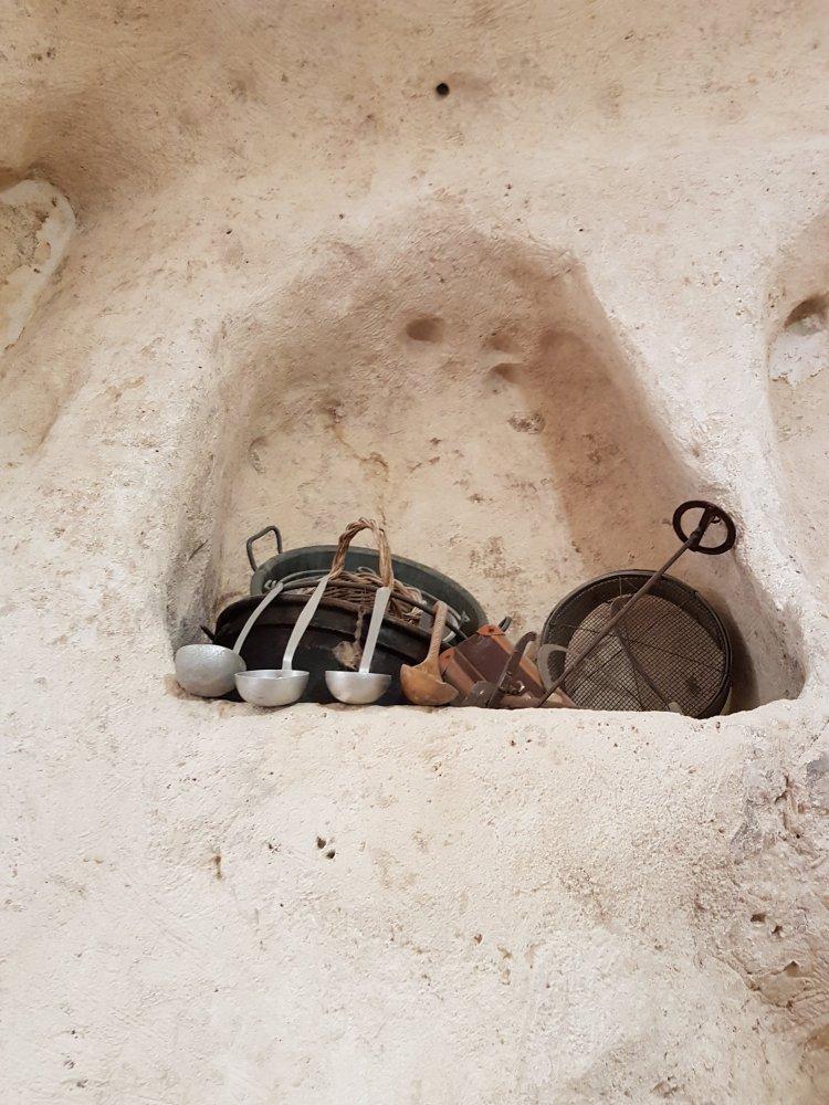 Sassi di Matera vecchi utensili