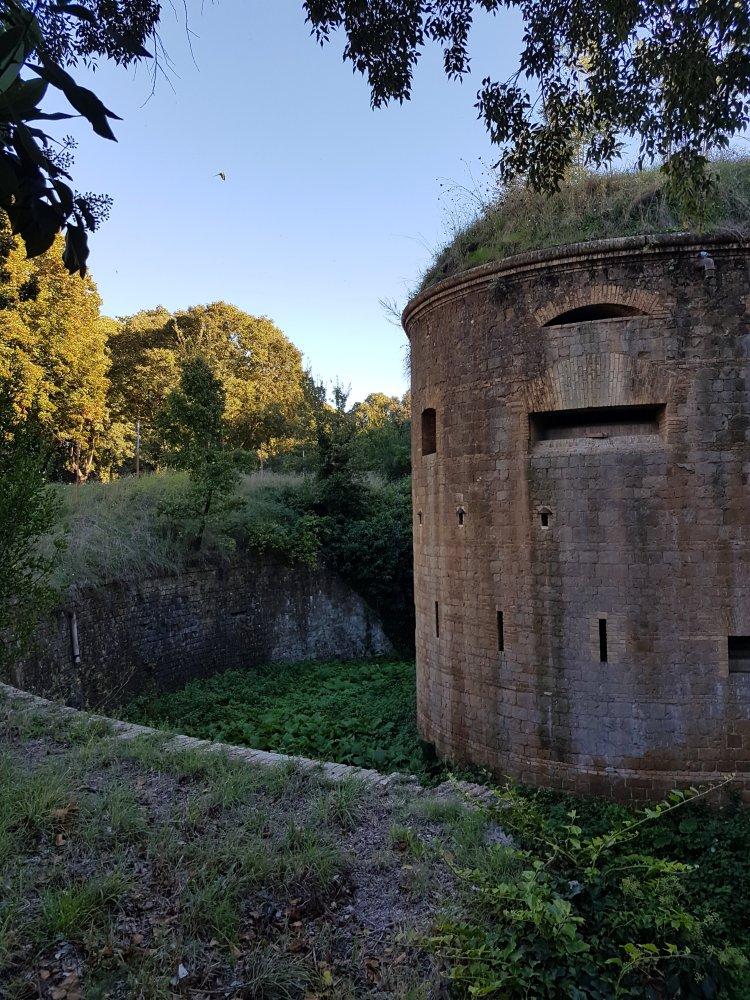 Esterno  del Forte Bravetta