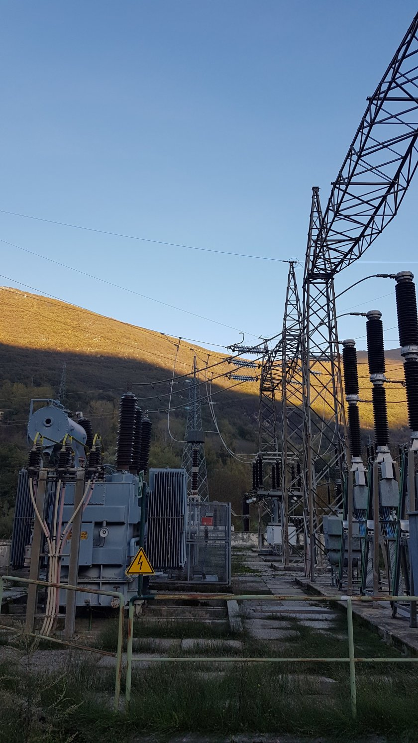 Centrale Enel Green Power Canistro