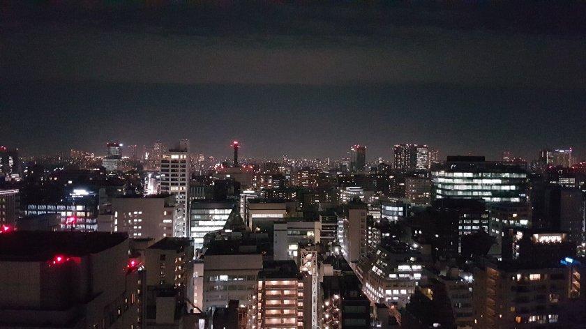 Tokio sopra il Toshi Center