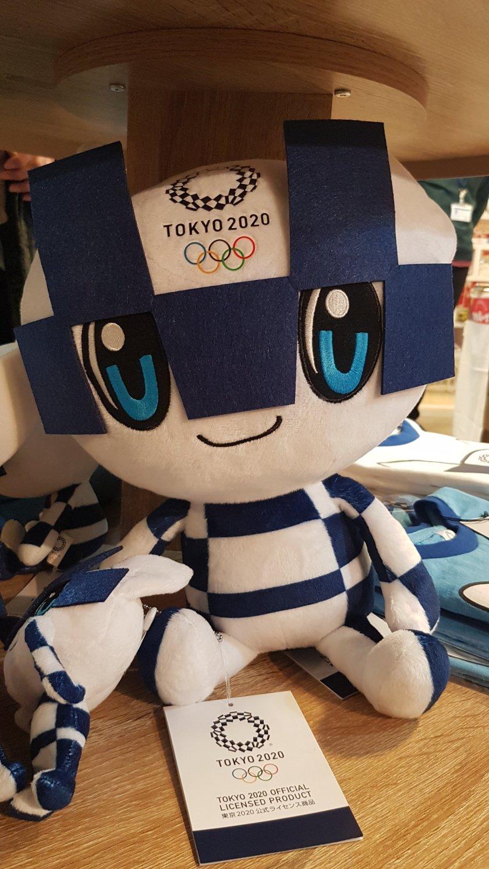 Mascotte Tokyo 2020