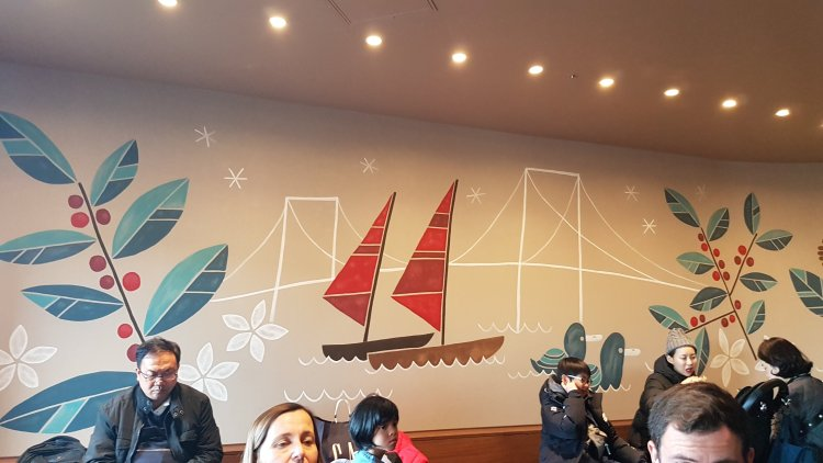 Starbucks Aqua City Odaiba Tokyo