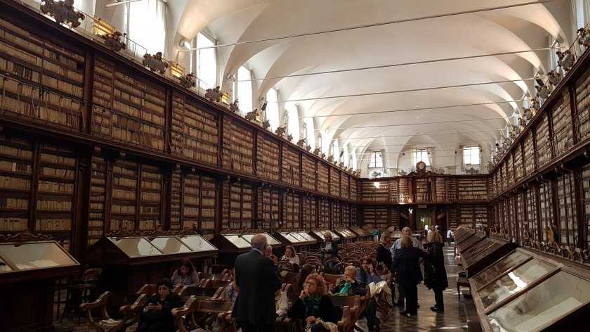 Sala biblioteca casanatese
